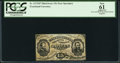 Fractional Currency:Third Issue, Fr. 1272SP 15¢ Third Issue Narrow Margin Pair PCGS Apparent New61.. ...