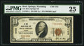 National Bank Notes:Wyoming, Rock Springs, WY - $10 1929 Ty. 1 The Rock Springs NB Ch. # 4755....