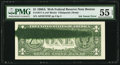 Error Notes:Ink Smears, Fr. 1917-A $1 1988A Federal Reserve Web Note. PMG AboutUncirculated 55 EPQ.. ...