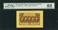 Fractional Currency:First Issue, Fr. 1282sp 25¢ First Issue Wide Margin Face PMG Choice Uncirculated 64.. ...