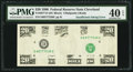 Error Notes:Inking Errors, Fr. 2077-D $20 1990 Federal Reserve Note. PMG Extremely Fine 40 EPQ.. ...