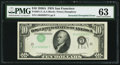 Error Notes:Inverted Third Printings, Fr. 2011-L $10 1950A Federal Reserve Note. PMG Choice Uncirculated63.. ...