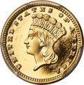 Proof Gold Dollars, 1884 G$1 PR65 Deep Cameo PCGS....