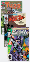 Modern Age (1980-Present):Miscellaneous, Marvel Modern Age Comics Box Lot (Marvel, 1980s-90s) Condition: Average NM-....