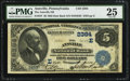 National Bank Notes:Pennsylvania, Annville, PA - $5 1882 Date Back Fr. 537 The Annville NB Ch. #(E)2384. ...