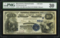 National Bank Notes:Pennsylvania, Myerstown, PA - $10 1882 Date Back Fr. 545 The Myerstown NB Ch. #(E)5241. ...