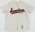 Autographs:Jerseys, Harmon Killebrew Signed Washington Senators Jersey. ...