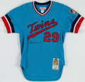 Autographs:Jerseys, Rod Carew Signed Minnesota Twins Jersey. ...