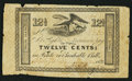 Miscellaneous:Other, Maverick Scrip Note from Panic of 1837 Era.. ...