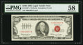 Small Size:Legal Tender Notes, Fr. 1550* $100 1966 Legal Tender Note. PMG Choice About Unc 58.. ...