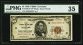 Fr. 1850-D* $5 1929 Federal Reserve Bank Note. PMG Choice Very Fine 35