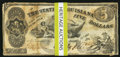 Obsoletes By State:Louisiana, Baton Rouge, LA- State of Louisiana $5(49) Oct. 10, 1862 Cr. 10;. Shreveport, LA- State of Louisiana $5(1) Mar. 10 1863 ... (Total: 50 notes)