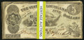 Obsoletes By State:Louisiana, Baton Rouge, LA- State of Louisiana $5(10) Oct. 10, 1862 Cr. 10;. Shreveport, LA- State of Louisiana $5(40) Mar. 10 1863... (Total: 50 notes)