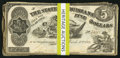 Obsoletes By State:Louisiana, Baton Rouge, LA- State of Louisiana $5(36) Oct. 10, 1862 Cr. 10;. Shreveport, LA- State of Louisiana $5(14) Mar. 10 1863... (Total: 50 notes)