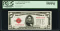 Small Size:Legal Tender Notes, Fr. 1525* $5 1928 Legal Tender Note. PCGS Choice About New 55PPQ.. ...