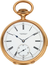 Patek Philippe, 18k Gold Minute Repeater Pocketwatch For Tiffany & Co., Circa 1888