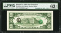 Error Notes:Third Printing on Reverse, Fr. 2024-L $10 1977A Federal Reserve Note. PMG Choice Uncirculated 63 EPQ.. ...