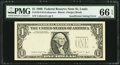 Error Notes:Missing Third Printing, Fr. 1914-H $1 1988 Federal Reserve Note. PMG Gem Uncirculated 66 EPQ.. ...