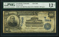 National Bank Notes:Colorado, Loveland, CO - $10 1902 Plain Back Fr. 624 The First NB Ch. #(W)7648. ...