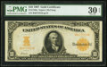 Large Size:Gold Certificates, Fr. 1169a $10 1907 Gold Certificate PMG Very Fine 30 EPQ.. ...