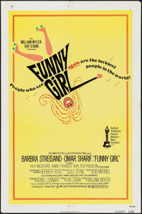 """Funny Girl & Other Lot (Columbia, R-1972). One Sheets (2) (27"""" X 41""""). Musical. ... (Total: 2 Items)"""