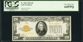 Small Size:Gold Certificates, Fr. 2402 $20 1928 Gold Certificate. PCGS Very Choice New 64PPQ.. ...