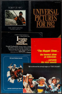 """The Deer Hunter & Others Lot (Universal, 1978). Ad Supplements (17) (8"""" X 11"""" - 11"""" X 15""""). Acad..."""