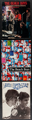 "The Beach Boys & Other Lot (Chappelle Music Co., 1976). Programs (3) (Multiple Pages, 9"" X 12""- 9.5&qu..."