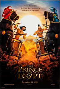 "The Prince of Egypt & Others Lot (DreamWorks, 1998). One Sheets (3) (27"" X 40"", 27"" X 41"") D..."