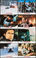 """Movie Posters:James Bond, The Living Daylights (UIP, 1987). British Front of House Photo Set (8"""" X 10""""). James Bond.. ... (Total: 8 Items)"""