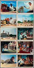 """Movie Posters:Fantasy, The 3 Worlds of Gulliver (Columbia, 1960). British Front of HouseColor Photos (10) (8"""" X 10""""). Fantasy.. ... (Total: 10 Items)"""