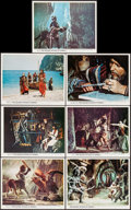 "Movie Posters:Fantasy, The Golden Voyage of Sinbad (Columbia, 1973). British Front ofHouse Color Photos (7) (8"" X 10""). Fantasy.. ... (Total: 7 Items)"