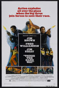 """Movie Posters:Action, Three the Hard Way (Allied Artists, 1974). One Sheet (27"""" X 41"""").Action. Starring Fred Williamson, Jim Brown, Jim Kelly and..."""