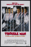 "Movie Posters:Crime, Trouble Man (20th Century Fox, 1972). One Sheet (27"" X 41""). Crime. Starring Robert Hooks, Paul Winfield, Ralph Waite and Ju..."