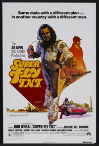 "Superfly T.N.T. (Paramount, 1973). One Sheet (27"" X 41""). Crime. Starring Ron O'Neal, Curtis Mayfield, Roscoe..."