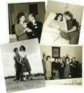 "Movie/TV Memorabilia:Photos, Ava Gardner and Mickey Rooney Photos. This set of four b&w 8"" x10"" photos of Ava Gardner with her first husband, Mickey Roo..."