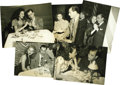 "Movie/TV Memorabilia:Photos, Ava Gardner and Artie Shaw Photos. This set of five rare, vintageb&w photos ranging in size from 6"" x 8"" to 8"" x 10"" featur..."