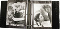 "Movie/TV Memorabilia:Memorabilia, Ava Gardner 'The Devil's Widow"" Photo Scrapbook. A black three-ringbinder containing two color and 92 b&w 8"" x 10"" stills f..."
