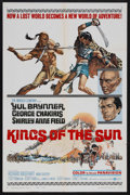 "Movie Posters:Adventure, Kings of the Sun (United Artists, 1963). One Sheet (27"" X 41"").Historical Adventure. Starring Yul Brynner, George Chakiris,..."