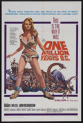 "Movie Posters:Adventure, One Million Years B.C. (20th Century Fox, 1966). One Sheet (27"" X41""). Science Fiction. Starring Raquel Welch and John Rich..."