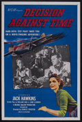 "Movie Posters:Drama, Decision Against Time (MGM, 1957). One Sheet (27"" X 41""). Drama. Starring Jack Hawkins, Elizabeth Sellars, Lionel Jeffries a..."