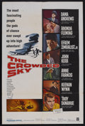 "Movie Posters:Drama, The Crowded Sky (Warner Brothers, 1960). One Sheet (27"" X 41""). Action. Starring Dana Andrews, Rhonda Fleming, Anne Francis ..."