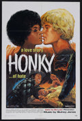 "Movie Posters:Blaxploitation, Honky (Jack Harris Enterprises, 1971). One Sheet (27"" X 41""). Drama. Starring Brenda Sykes, John Neilson, Maia Danziger, Lin..."