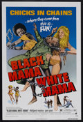 "Movie Posters:Blaxploitation, Black Mama, White Mama (American International Pictures, 1972). One Sheet (27"" X 41""). Blaxploitation. Starring Pam Grier, M..."