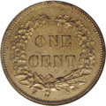 Patterns: , 1858 P1C Flying Eagle Cent, Judd-192, Pollock-235, R.5, PR64 NGC.The obverse is the familiar Small Letters 1858 cent. The ...