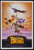 "Movie Posters:Animated, The Rescuers Down Under (Buena Vista, 1990). One Sheet (27"" X 41"") Double Sided. Animated Adventure. Starring the voices of ..."