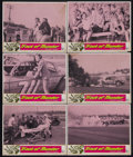 """Movie Posters:Action, Track of Thunder (United Artists, 1967). Lobby Cards (6) (11"""" X14""""). Action. Starring Tommy Kirk, Ray Stricklyn, H.M. Wynan...(Total: 6 Items)"""