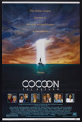 "Movie Posters:Drama, Cocoon (20th Century Fox, 1985). One Sheet (27"" X 41""). Science Fiction. Starring Don Ameche, Wilford Brimley, Hume Cronyn a..."
