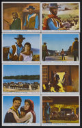 "Movie Posters:Western, A Fistful of Dollars (United Artists, 1967). British Mini Lobby Card Set of 8 (8"" X 10""). Spaghetti Western. Starring Clint ... (Total: 8 Items)"