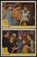 """Movie Posters:Musical, Meet Me in St. Louis (MGM, 1944). Lobby Cards (2) (11"""" X 14""""). Musical. Starring Judy Garland, Mary Astor, Lucille Bremer, L... (Total: 2 Items)"""